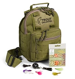 Trout Unlimited Loaded Sling Pack