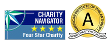 charity nav footer images